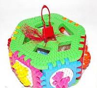 Логическая игрушка  Сортер с геометрическими фигурками и  животными