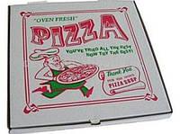 Коробка для пиццы 24 см с печатью изображения