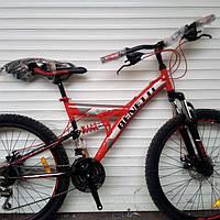 Велосипед двухподвес Benetti Quattro 26, фото 1