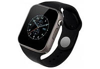 Смарт часы Smart Watch A1 Black (with SIM + MicroSD + Camera)
