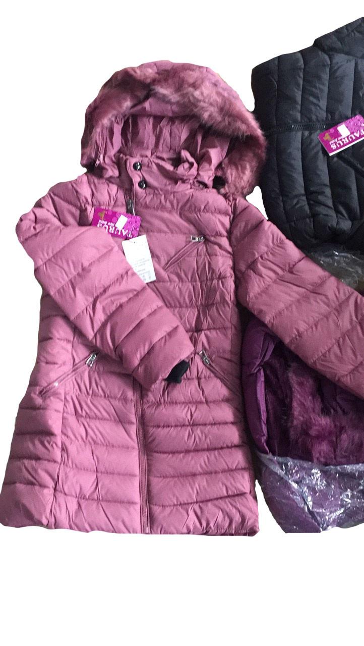 Куртки зимние  для девочек оптом 8-16 лет, Taurus , арт. С17-30