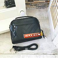 Сумка Сумочка саквояж ss258473 натуральная кожа , кожанные сумки черный , фото 1