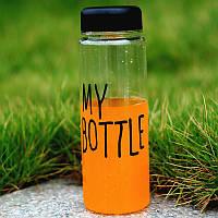 Бутылка с чехлом 500 мл. My Bottle top-0005