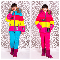 Детский зимний костюм | Яркий детский лыжный костюм