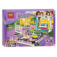 """Конструктор """"Bela Friends"""" Парк развлечений: Аттракцион Автодром, 429 дет., 10560"""