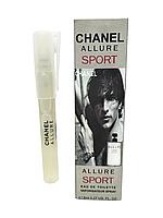 Мужской мини-парфюм в ручке Chanel Allure homme Sport мужской 8 мл
