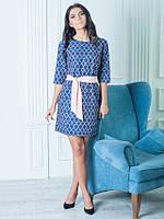 Женское платье Аделина фиолетового цвета