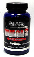 Omega 3 1000 мг Ultimate Nutrition, 90 капсул