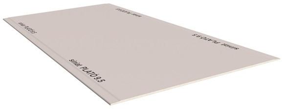 Гипсокартон потолочный 9,5*1200*2500мм PLATÓ 9.5