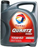 Масло моторное минеральное TOTAL QUARTZ 5000 15W40 (4л)
