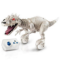 Интерактивный динозавр робот Индоминус Рекс Zoomer Dino Jurassic World Indominus Rex Remote Control Robotic