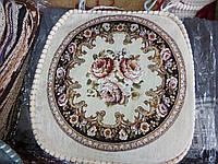 Накидки для стульев на завязках из гобелена
