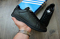 "Мужские Кроссовки Adidas x Raf Simons Stan Smith ""Black"""