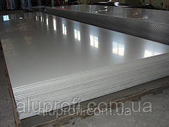 Алюминиевый лист 0,5мм  (1,25х2,5м) 1050 Н24