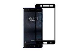 3D стекло для Nokia 5 на весь экран Black