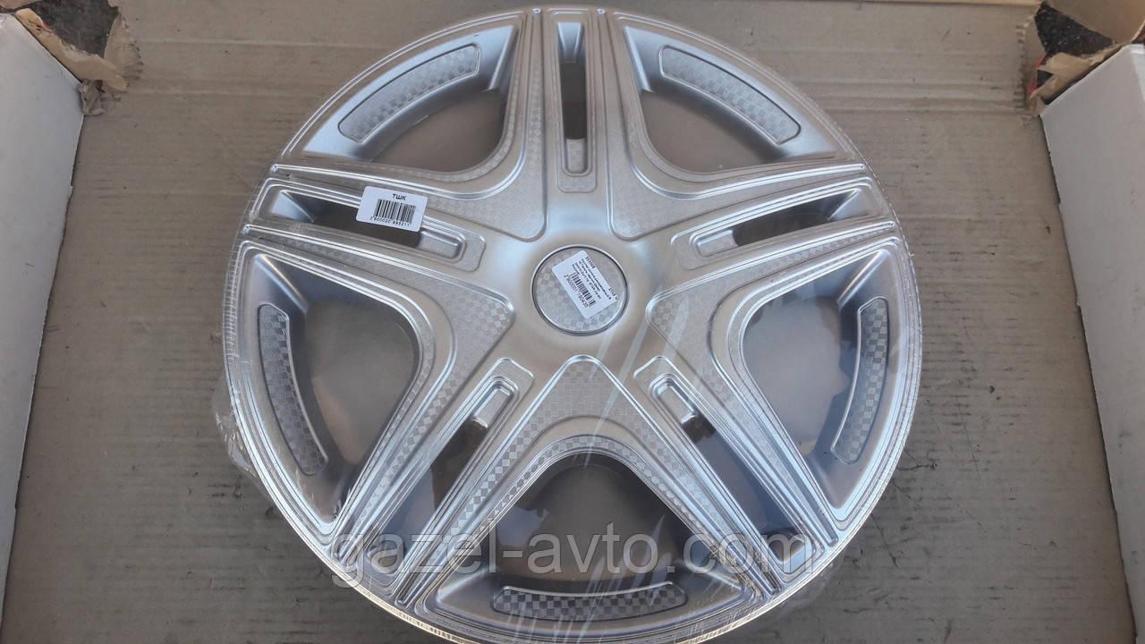 Колпак колеса декоративный R 16 Газель задний Дакар (комплект 2 шт ) пр. STAR (пр-во Россия)