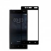 3D стекло для Nokia 3 на весь экран Black
