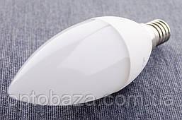 LED лампа Премиум SvitEco C37 6Вт E14 4000K гарантия 3 года, фото 3