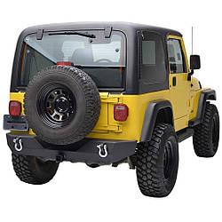 Силовий задній бампер Jeep Wrangler TJ