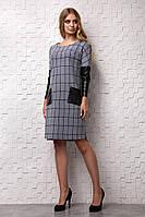 Стильное теплое платье с ангоры 7134, фото 1