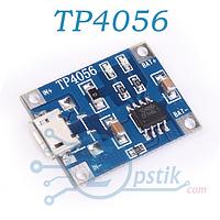 Модуль TP4056 заряда li-ion аккумуляторов - microUSB