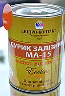 Сурик железный Красно-коричневая Фасовка 1 кг Днепр-Контакт