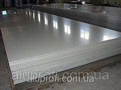 Алюминиевый лист 0,8мм  (1,0х2,0м) 1050 Н24