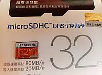 Карта памяти microSDHC Samsung 32GB EVO Plus 10 class