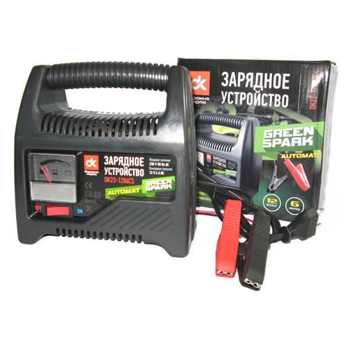 Зарядное для аккумуляторов Дорожная карта 6Amp 12V, DK23-1206CS