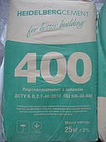 Портландцемент М-400 ПЦ-Б, завод. упаковка, 25 кг