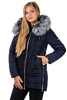 Женская зимняя куртка Катя_темно-синий