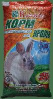 Крамар  КК92-1 для взрослых кроликов (с травяной мукой)