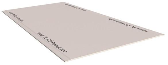 Гипсокартон стеновой 12,5*1200*2500мм PLATÓ Format