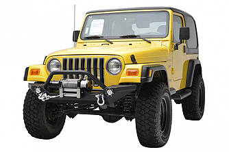 Передний силовой бампер Jeep Wrangler TJ (Aspen)