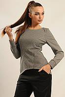 Блуза Шарлен цвет серый меланж Ри Мари