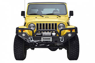Силовой передний бампер Jeep Wrangler TJ (Hunter)