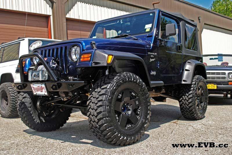 Расширители арок фендеры Jeep Wrangler TJ