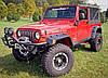 Расширители арок фендеры Jeep Wrangler TJ, фото 4