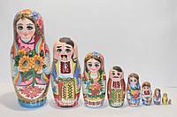 Украинская расписная матрёшка из 9-ти штук 903