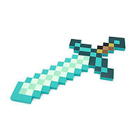 Пиксельный Зачарованный Алмазный меч Minecraft CharmedDiamondSword