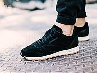 ОРИГИНАЛ! Кроссовки Reebok Classic Leather SG (Black/Chalk-Gum) BS7892