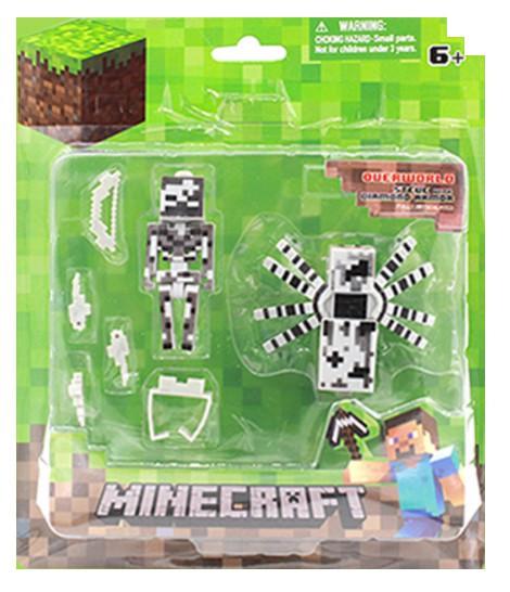 ea56558770561 Набор Minecraft Всадник скелет и паук с аксессуарами: продажа, цена ...