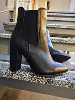 Стильные ботиночки Classiс. Натуральная кожа/замш, внутри байка. Каблук 9,5 см. Р-р 36-40.Цвета в ассортименте