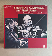 CD диск Stephane Grappelli And Hank Jones - A Two-Fer