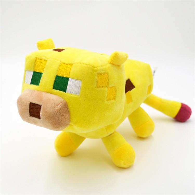 М'яка іграшка Оцелот Minecraft великий 28 см
