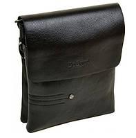 Небольшая мужская сумка планшет Dr.Bond 88359-1 black, фото 1