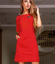 Женское замшевое платье-туника (Сеттиjd), фото 3