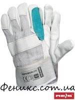 Перчатки защитные усиленные кожей RBPOWERLUX - 10,5