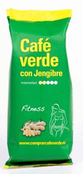 Кофе зеленый молотый с имбирем Cafe Burdet con Jengibre