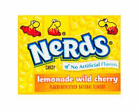 Набор 4 шт. Конфеты Nerds Lemonade Wild (мини)
